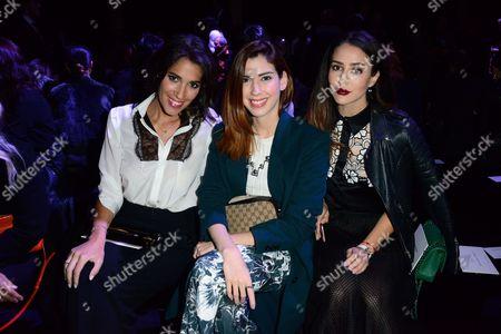 Laurie Cholewa, Camila Coutinho and Tamara Kanilic.