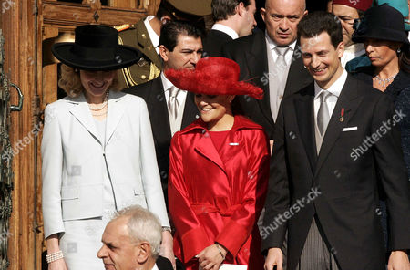 Princess Sophie, Princess Victoria and Prince Alois