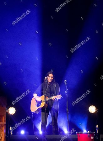 Editorial picture of Thea Gilmore in concert at the O2 Academy Leicester, Britain - 05 Mar 2016