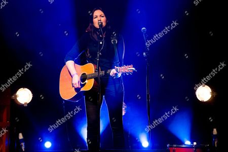 Editorial image of Thea Gilmore in concert at the O2 Academy Leicester, Britain - 05 Mar 2016