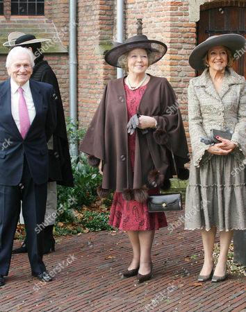 Jorge Zorreguieta, Princess Beatrix and Maria del Carmen Cerruti