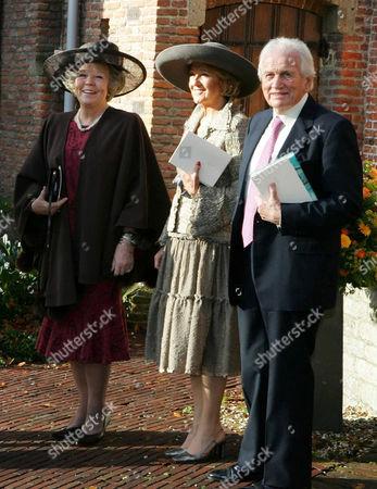 Queen Beatrix, Maria Cerrut and Jorge Zorreguieta