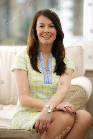 Stock Image of Sara Madderson Fashion Designer. Sara Designs Dresses And Maternity Dresses. Kate Middleston Wore One Of Her Designs.