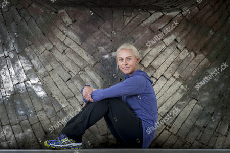 Editorial picture of Feb 25th 2015 - Wigan Uk - Meadows Wigan: 800m Runner Jenny Meadows Pictured In Wigan. Picture By Ian Hodgson/daily Mail.