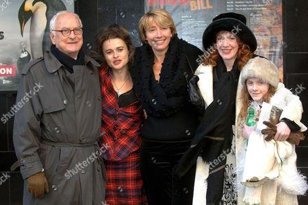 James Ivory, Helena Bonham Carter, Emma Thompson, Madeleine Potter and Madeleine Daly