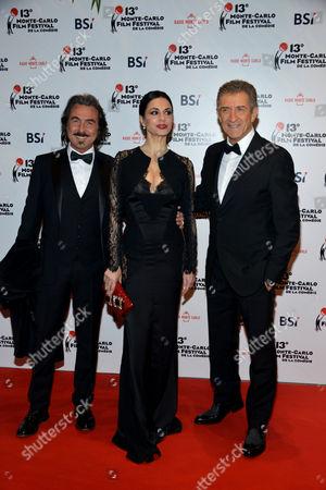 Luciano Cannito, Rossella Brescia, Ezio Greggio