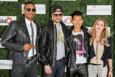 Editorial picture of Love Life: Live Stream benefiting BuildOn - hosted by Travis Van Winkle, Los Angeles, America - 06 Mar 2016