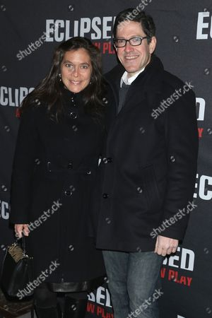 Stock Photo of Diane Paulus and Randy Weiner
