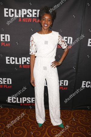 Editorial photo of 'Eclipsed' Broadway play opening night, New York, America - 06 Mar 2016