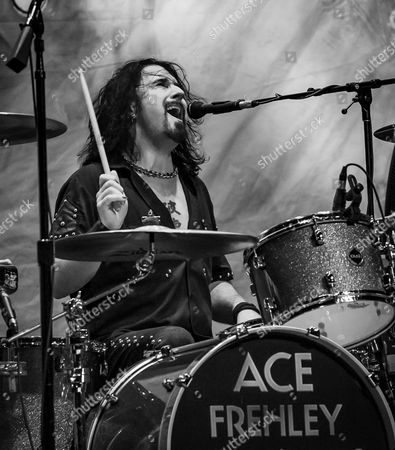 Editorial photo of Ace Frehley in concert at the Brooklyn Bowl in Las Vegas, America - 06 Mar 2016