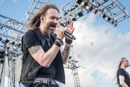 Stock Picture of HammerFall - Joacim Cans