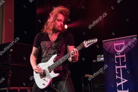 Stock Photo of Delain - Timo Somers
