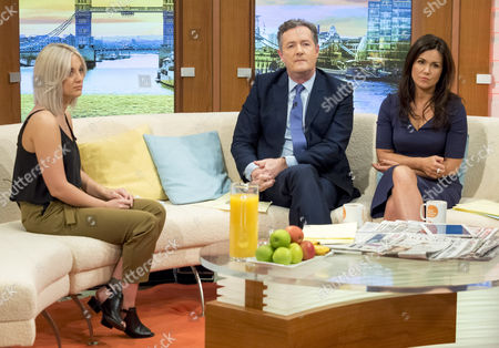 Editorial image of 'Good Morning Britain' TV show, London, Britain - 07 Mar 2016