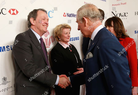Prince Charles chats to Kevin Whately