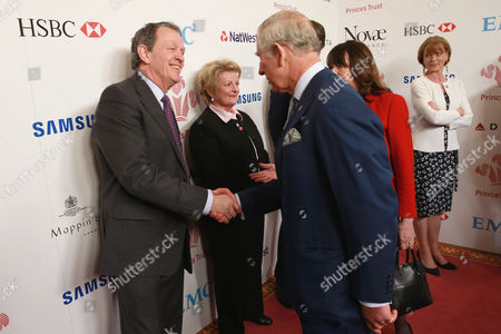 Prince Charles meets Kevin Whately