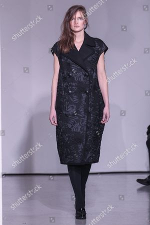Editorial image of Atsuro Tayama show, Runway, Autumn Winter 2016, Paris Fashion Week, France - 01 Mar 2016