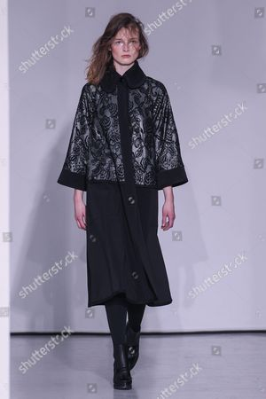 Editorial picture of Atsuro Tayama show, Runway, Autumn Winter 2016, Paris Fashion Week, France - 01 Mar 2016