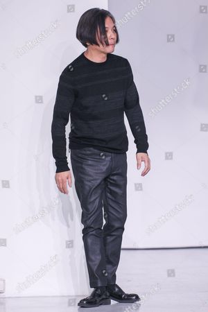 Stock Picture of Atsuro Tayama on the catwalk