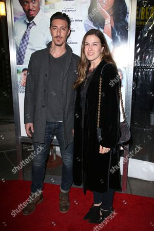 Eric Balfour and wife