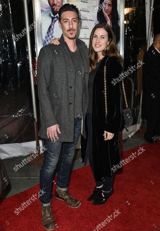 Eric Balfour and Erin Chaimulon