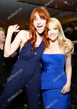 Stock Image of Laura Spencer and Melissa Rauch