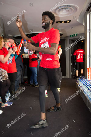Editorial image of 'Vertical Rush' tower running event for Shelter, London, Britain - 08 Mar 2016