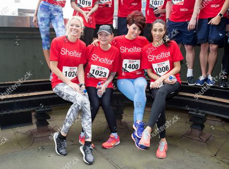 Editorial picture of 'Vertical Rush' tower running event for Shelter, London, Britain - 08 Mar 2016