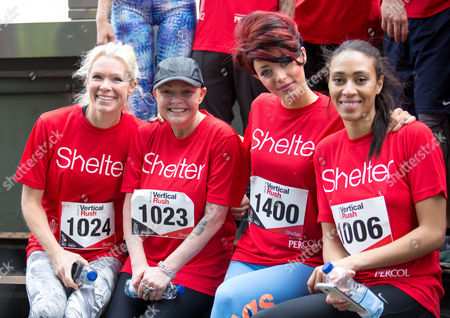 Editorial photo of 'Vertical Rush' tower running event for Shelter, London, Britain - 08 Mar 2016