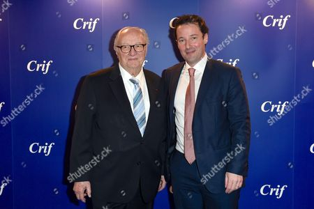 Roger Cukierman and Gilles Clavreul