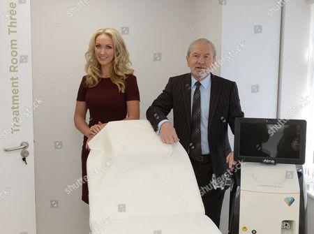 Dr Leah Totton and Lord Alan Sugar