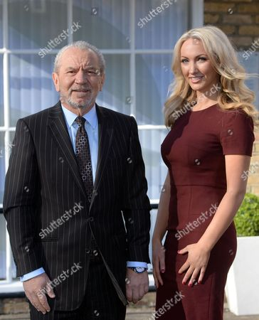 Lord Alan Sugar and Dr Leah Totton