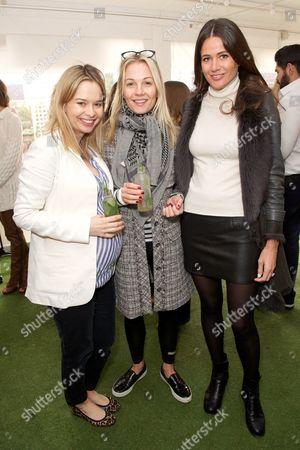 Marissa Hermer, Caroline Fleming and Kim Johnson