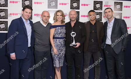 Match of the Day Team - Danny Murphy, Charlotte Hawkins, Alan Shearer, Jermaine Jenas and Martin Keown