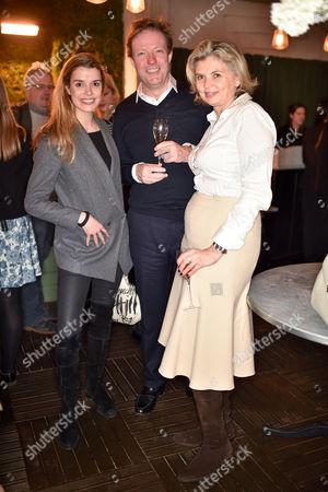 Sabine Roemer, Sebastian Taylor and Maria Doulton