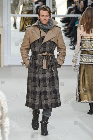 Brad Kroenig on the catwalk