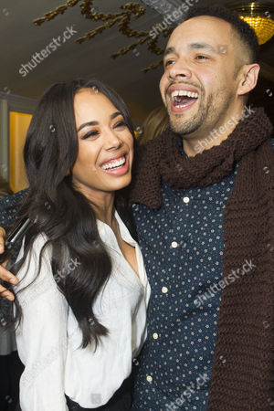 Jade Ewen and Leon Lopez