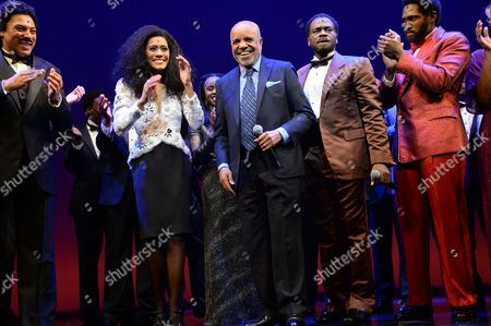 Charl Brown, Lucy St Louis, Berry Gordy, Cedric Neal and Sifiso Mazibuko