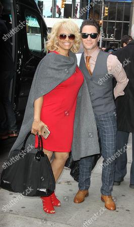 Kim Fields and Sasha Farber