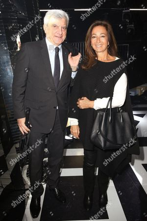Sidney Toledano and his wife Katia Toledano