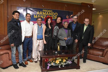 Alejandro Lora, Armando Manzanero, Aleks Syntek with guests