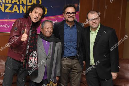 Alejandro Lora, Armando Manzanero, Aleks Syntek with guest