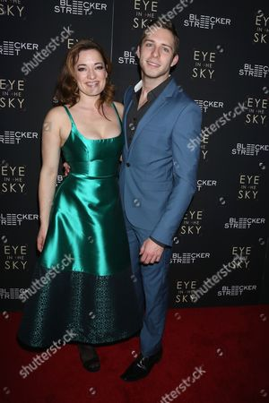 Stock Photo of Laura Michelle Kelly and Corey Mach