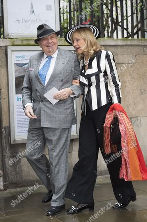 Barry Humphries with Lizzie Spender