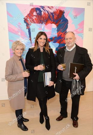 Editorial image of Charity auction of 'David Beckham: The Man', hosted by Phillips at their European Headquarters, and catered by Sexy Fish, with proceeds supporting 7: The David Beckham UNICEF Fund and UK charity Positive View Foundation, London, Britain - 10 Mar 2016