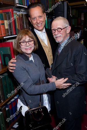 Joan Washington, Richard E Grant and John Hurt