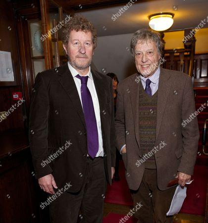 Sebastian Faulks and Tom Stoppard