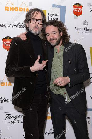 Jarvis Cocker and Jamie Byng