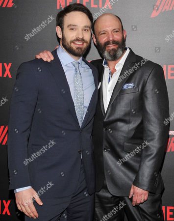 Charlie Cox and Geoffrey Cantor