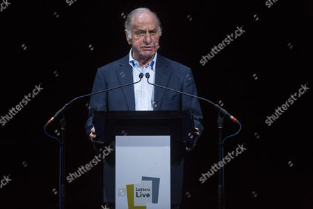 Geoffrey Palmer performing