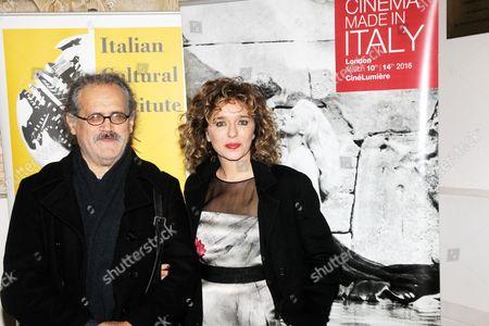 Giuseppe Gaudino and Valeria Golino